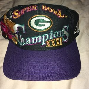 Super Bowl XXXI Champions Packers hat
